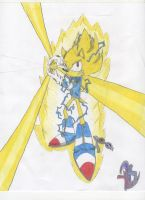 Adult Super Sonic Attacks by yamiseto2
