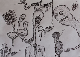 CREATURES INC. by 9-Heart