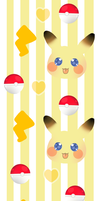 Pikachu Custom Background by HoneyDoodles