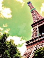 Paris on Acid by piece-on-earth