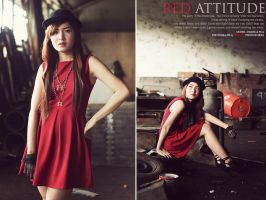 Red Attitude v.1 by bwaworga
