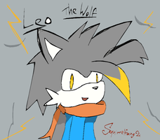 Leo the Wolf by Squirrelfang2