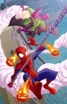 Spiderman vs Green Goblin by natelovett