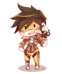 Tracer- Page doll by raclemore
