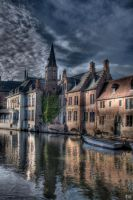 Beautiful Town HDR by AyseSelen