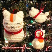 Nyanko Sensei Ornament by xxtiffiee