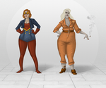 Plus Size Power Houses by AndyBennett