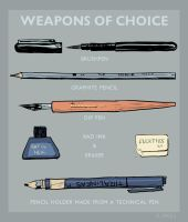 Weapons of Choice by Dian3