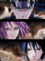 Naruto (Chapter 632) by AkilaChione