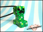 Creeper Necklace by GrandmaThunderpants