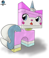 The Lego Movie- Unikitty by GamefreakDX