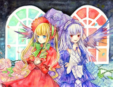 Shinku and Suiginto by aloespica109