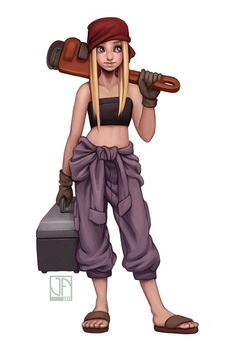Winry by joifish