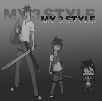 My 3 Styles!!! by Guille300