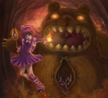 Annie and Tibbers by Shinobinaku