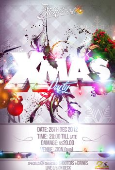 Xmas Party Flyer by Freygang