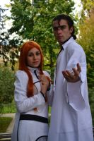 Bleach - Aizen and Orihime 1 by LadyGrell93
