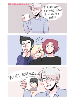 HOW TO BE SMOOTH AF: BY VICTOR NIKIFOROV by Randomsplashes