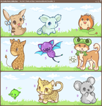 ..Cutie Pets Collection 2.. by koruldia