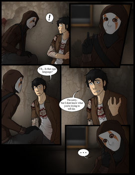 Torn Reality Pg. 28 by ProxyComics