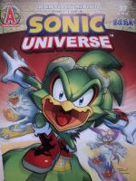 Sonic Universe 33 by Carnage-Kitsune