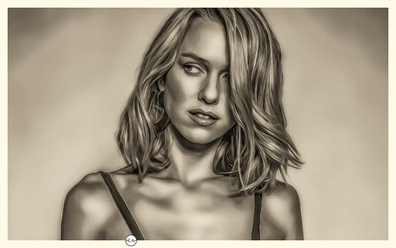 Naomi Watts //ART// by KENANN827