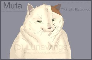 Muta from The cat Returns by lunawings