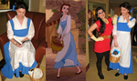 Cosplay: Belle from 'Beauty and the Beast' by TempestFae