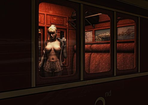 The Passing Train by madaigual