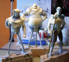 The Good, the Bad and the Ugly by figuralia