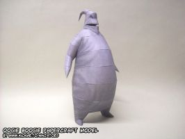 Oogie Boogie papercraft model by ninjatoespapercraft