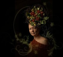 The flower lady by raufino