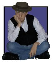 Me as Buster Keaton by pastorgavin
