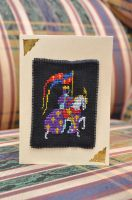 Knight by VickitoriaEmbroidery