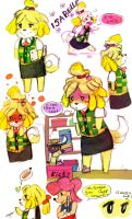 Hello, It's me! Isabelle! :ANIMAL CROSSING: by Bippie
