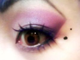 Pink Doll Eye 1 by flavor-of-life4ever