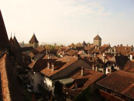 Medieval Town by AileenBeron