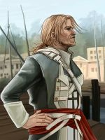 Captain Kenway by Leliumoj