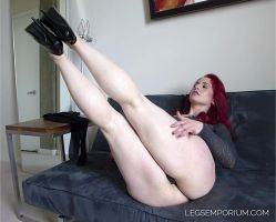 Legs up, and to the side with Andrea - LE by LegsEmporium