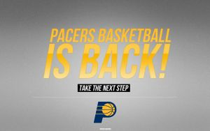Indiana Pacers Wallpaper by Angelmaker666