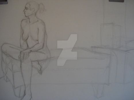 Figure II InClass Drawing 4 by TheCelticViking