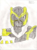 Psycho Ranger's: Yellow by DarkAlicornWarrior