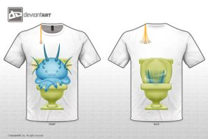 toilet monster by Ashmuth