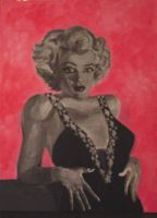 Pink Marilyn by ZoSoTheTwirp