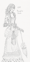 1882 Reception dress by death-g-reaper