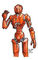 Daily Sketches HK-47 by fedde