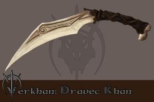 Dravec Khan knife by Thepastart