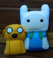 Finn and Jake Adventure Time! by Celtic-Dragonfly