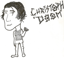 Caricature: Christoph Doom by 0celluloid-dreamer0