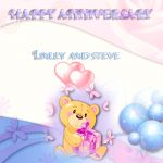 Happy Anniversary Linley and Steve by im1happy